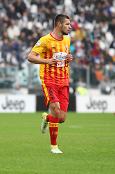 November 5, 2017 - Turin, Italy - Djimsiti Berat (Benevento Calcio) during  the Serie A football match between Juventus FC and Benevento Calcio on 05 November 2017 at Allianz Stadium in Turin, Italy. (Credit Image: © Massimiliano Ferraro/NurPhoto via ZUMA Press)