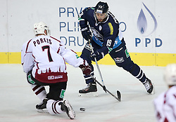 03.10.2014, Dom Sportova, Zagreb, CRO, KHL League, Medvescak vs Dinamo Riga, 13. Runde, im Bild Pascal Pelletier // during the Kontinental Hockey League 13th round match between Medvescak and Dinamo Riga at the Dom Sportova in Zagreb, Croatia on 2014/10/03. EXPA Pictures © 2014, PhotoCredit: EXPA/ Pixsell/ Igor Kralj<br /> <br /> *****ATTENTION - for AUT, SLO, SUI, SWE, ITA, FRA only*****