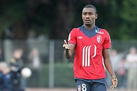 FOOTBALL - FRIENDLY GAMES 2012/2013 - LILLE OSC v ES TROYES - 21/07/2011 - PHOTO CHRISTOPHE ELISE / DPPI - SALOMON KALOU (LOSC)