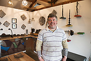 Stephen Quinn, he's a blacksmith who has a  workshiop in Kilreekil Co. Galway Photo:Andrew Downes, xposure.