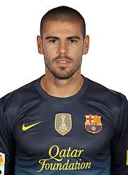 F.C. Barcelona 2012 / 2013. Victor Valdes...Photo: Gregorio / ALFAQUII