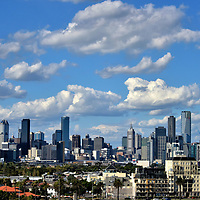 Skyline of Melbourne, Australia <br />