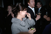 HELEN MCCRORY and DAMIAN LEWIS, , Tom Cairns directs Almeida Fundraising Benefit sponsored by Coutts and Co. -A Chain Play by Samuel Adamson, Moira Buffini, David Hare, Charlotte Jones, Frank McGuinness and Roy Williams. Almeida theatre. London. 23 March 2007.  -DO NOT ARCHIVE-© Copyright Photograph by Dafydd Jones. 248 Clapham Rd. London SW9 0PZ. Tel 0207 820 0771. www.dafjones.com.