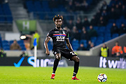Crystal Palace #23 Pape Souaré during the The FA Cup 3rd round match between Brighton and Hove Albion and Crystal Palace at the American Express Community Stadium, Brighton and Hove, England on 8 January 2018. Photo by Sebastian Frej.