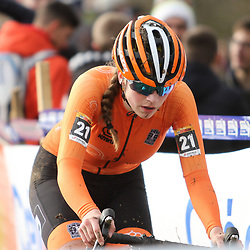 19-01-2020: Wielrennen: Wereldbeker Veldrijden: Nommay <br />Britt Knaven