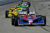 Dario Franchitti at the Milwaukee Mile, ABC Supply Co./AJ Foyt 225, July 25, 2005