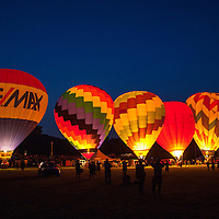 The Baloon Glow at the Green River Festival, Greenfield, MA, July 11, 2015