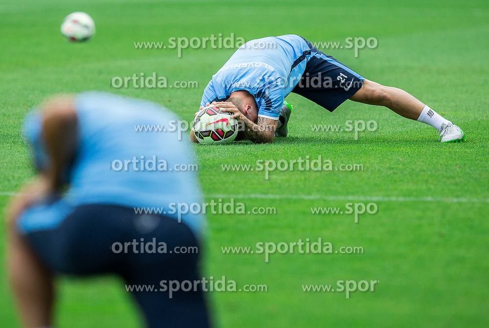 Martin Milec during practice session of Slovenian National Football Team before Euro 2016 Qualifications match against England, on June 12, 2015 in SRC Stozice, Ljubljana, Slovenia. Photo by Vid Ponikvar / Sportida