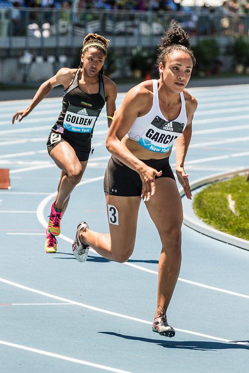 adidas Grand Prix Diamond League Track & Field: womens 400 B, Pariis Garcia, USA