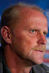 17.08.2010, Villa Verde, Bremen, GER, PK zum CL Quallifikationsspiel Werder Bremen vs Sampdoria Genua im Bild  Thomas Schaaf ( Werder  - Trainer  COACH)   EXPA Pictures © 2010, PhotoCredit: EXPA/ nph/  Kokenge+++++ ATTENTION - OUT OF GER +++++ / SPORTIDA PHOTO AGENCY