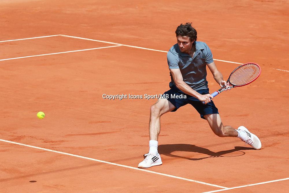 Gilles Simon - 14.04.2015 - Tournoi de Monte Carlo - Masters 1000 -<br />Photo : Serge Haouzi / Icon Sport