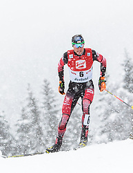31.01.2016, Casino Arena, Seefeld, AUT, FIS Weltcup Nordische Kombination, Seefeld Triple, Langlauf, im Bild Bernhard Gruber (AUT) // Bernhard Gruber of Austria competes during 15km Cross Country Gundersen Race of the FIS Nordic Combined World Cup Seefeld Triple at the Casino Arena in Seefeld, Austria on 2016/01/31. EXPA Pictures © 2016, PhotoCredit: EXPA/ JFK