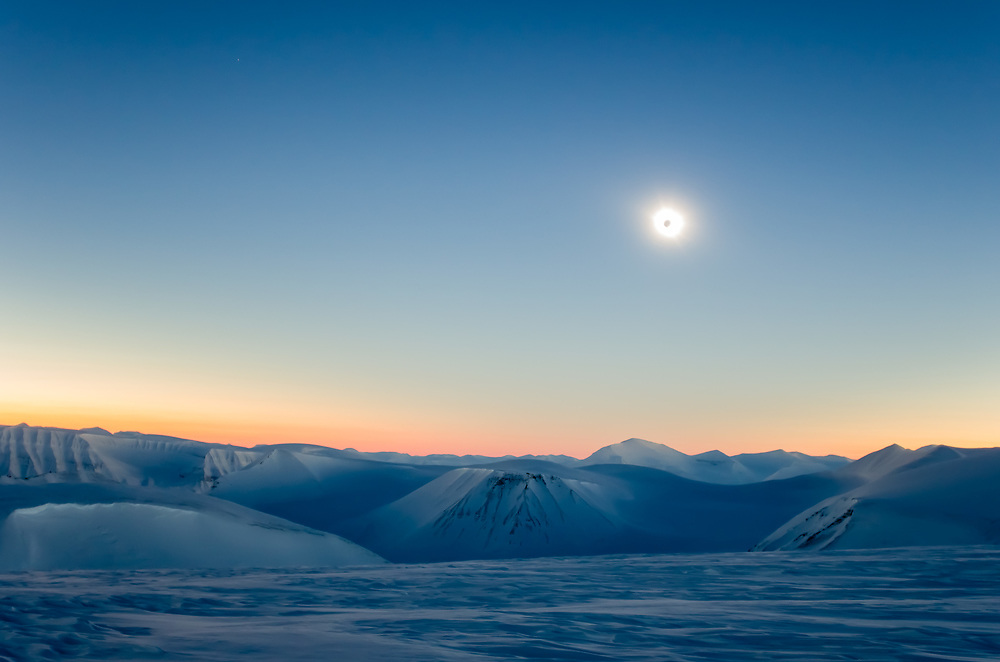 Taken during the total solar eclipse on Svalbard 2015.