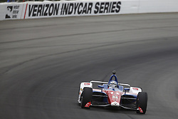 August 19, 2018 - Long Pond, Pennsylvania, United Stated - TONY KANAAN (14) of Brazil take to the track for the ABC Supply 500 at Pocono Raceway in Long Pond, Pennsylvania. (Credit Image: © Chris Owens Asp Inc/ASP via ZUMA Wire)