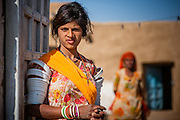 Desert girl portrait (India)