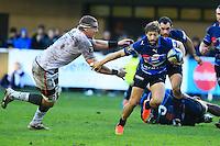 Teddy IRIBAREN - 20.12.2014 - Montpellier / Stade Toulousain - 13eme journee de Top 14 -<br /> Photo : Nicolas Guyonnet / Icon Sport