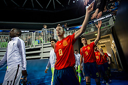 Lin of Spain during futsal match between Spain and France at Day 2 of UEFA Futsal EURO 2018, on January 31, 2018 in Arena Stozice, Ljubljana, Slovenia. Photo by Urban Urbanc / Sportida