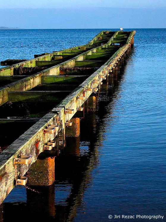 GERMANY ECKERNFOERDE 24DEC06 - Wooden pier on the Eckernfoerder Kurstrand beach in the afternoon sun. Classic Baltic sea afternoon in good winter light...jre/Photo by Jiri Rezac..© Jiri Rezac 2006..Contact: +44 (0) 7050 110 417.Mobile:  +44 (0) 7801 337 683.Office:  +44 (0) 20 8968 9635..Email:   jiri@jirirezac.com.Web:    www.jirirezac.com..© All images Jiri Rezac 2006 - All rights reserved.