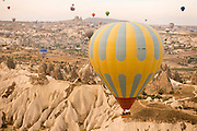 Hot-air balloons, Cappadocia, Turkey