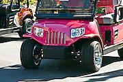 Golf Carts, Golf Cart Pink CustomCustom, Classic, Unique,
