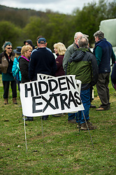 Pictured: <br /> <br /> The Scottish Green Party's Andy Wightman, MSP, joined local election candidate Ian Baxter at the proposed site of a new film studio in Edinburgh ahead of the local council elections.<br /> Ger Harley | EEm 17 April 2017