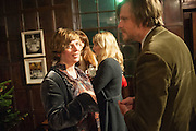 DEBORAH CURTIS; DAN LOBB, The house of fairly tales exhibition launch. Sutton House. , 2 and 4 homerton high st. london.  E9 6JQ 12 December 2012.