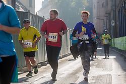 Runners during 20th Ljubljana Marathon 2015, on October 25, 2015 in Ljubljana, Slovenia. Photo by Grega Valancic / Sportida