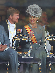 King Willem-Alexander of The Netherlands and Queen Maxima of The Netherlands attend the Enthronement Ceremony of Emperor Naruhito at the Imperial Palace in Tokyo, Japan on October 22, 2019. Photo by Robin Utrecht/ABACAPRESS.COM