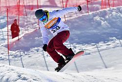 KELLER Matthias, SB-LL2, GER, Banked Slalom at the WPSB_2019 Para Snowboard World Cup, La Molina, Spain