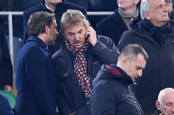 February 26, 2019 - Rome, Rome, Italy - Zbigniew Boniek manager of Polish football association during the Italian Tim Cup Semi-Final match between Lazio and AC Milan at Stadio Olimpico, Rome, Italy on 26 February 2019. (Credit Image: © Giuseppe Maffia/NurPhoto via ZUMA Press)