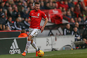 Coventry City defender Chris Stokes  during the Sky Bet League 1 match between Sheffield Utd and Coventry City at Bramall Lane, Sheffield, England on 13 December 2015. Photo by Simon Davies.