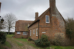 © Licensed to London News Pictures. 21/02/2016. Thame, UK. Boris Johnson's Oxfordshire home. Photo credit: Peter Macdiarmid/LNP