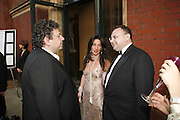 LUCIAM GRAING, KATRINA SEDLEY AND JONATHAN SHALIT, The Biba Ball in aid of CLIC Sargent. Victoria & Albert Museum, London. 11 May 2006.ONE TIME USE ONLY - DO NOT ARCHIVE  © Copyright Photograph by Dafydd Jones 66 Stockwell Park Rd. London SW9 0DA Tel 020 7733 0108 www.dafjones.com
