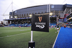 General views of the BT Sport Cardiff Arms Park  - Mandatory by-line: Nizaam Jones/JMP- 24/03/2018 - RUGBY - BT Sport Cardiff Arms Park- Cardiff, Wales - Cardiff Blues v Ulster Rugby - Guinness Pro 14