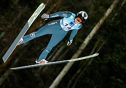 Nita Englund of USA soaring through the air during 1st Round at Day 1 of World Cup Ski Jumping Ladies Ljubno 2019, on February 8, 2019 in Ljubno ob Savinji, Slovenia. Photo by Matic Ritonja / Sportida