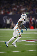 Miami Dolphins cornerback Xavien Howard (25) in action during the NFL week 8 regular season football game against the Houston Texans on Thursday, Oct. 25, 2018 in Houston. The Texans won the game 42-23. (©Paul Anthony Spinelli)