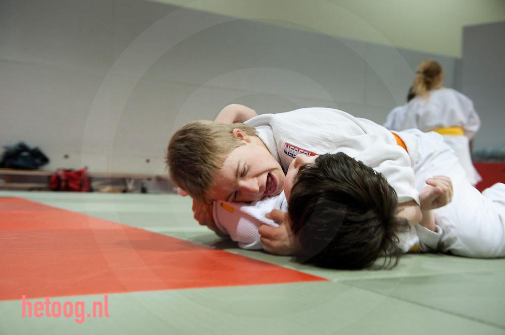 nederland,deventer,11april2012 judo voor kinderen met een beperking