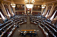 The House Chamber at the Iowa State Capitol in Des Moines on Tuesday February 1, 2011. (Stephen Mally/Freelance)