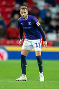 Andrew Shinnie (#11) of Luton Town FC during the EFL Sky Bet League 1 match between Sunderland AFC and Luton Town at the Stadium Of Light, Sunderland, England on 12 January 2019.