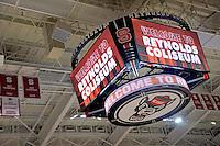 New Reynolds Coliseum scoreboard and video board.