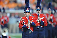 Ole Miss band vs. Tennessee at Vaught-Hemingway Stadium in Oxford, Miss. on Saturday, October 18, 2014. Ole Miss won 34-3 to improve to 7-0.