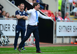 Bristol Rovers manager Darrell Clarke - Mandatory by-line: Alex James/JMP - 21/04/2018 - FOOTBALL - Aesseal New York Stadium - Rotherham, England - Rotherham United v Bristol Rovers - Sky Bet League One