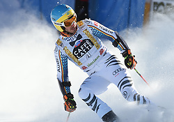 18.12.2016, Grand Risa, La Villa, ITA, FIS Weltcup Ski Alpin, Alta Badia, Riesenslalom, Herren, 2. Lauf, im Bild Felix Neureuther (GER) // Felix Neureuther of Germany reacts after his 2nd run of men's Giant Slalom of FIS ski alpine world cup at the Grand Risa in La Villa, Italy on 2016/12/18. EXPA Pictures © 2016, PhotoCredit: EXPA/ Erich Spiess