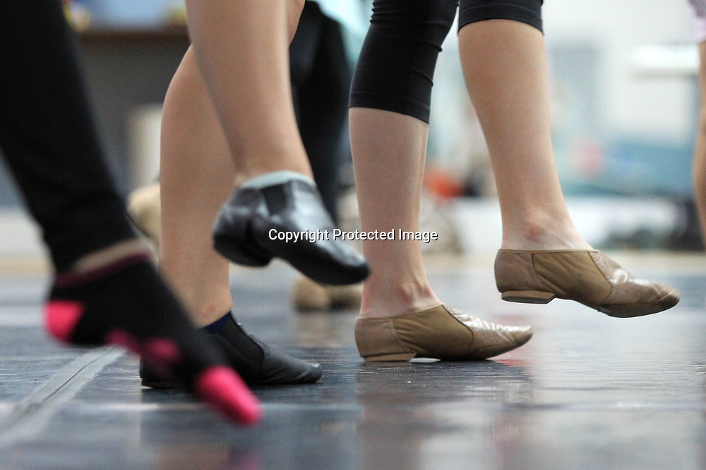 Students dance at the North Mississippi Dance Centre's dance camp taught by Alissa La Vergne, a Radio City Rockette.