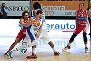DESCRIZIONE : Cantu' Lega A 2014-15 <br /> Acqua Vitasnella Cantù vs Consultinvest Pesaro<br /> GIOCATORE : James Feldeine<br /> CATEGORIA : Controcampo palleggio blocco<br /> SQUADRA : Acqua Vitasnella Cantù<br /> EVENTO : Campionato Lega A 2014-2015 GARA :Acqua Vitasnella Cantù vs Consultinvest Pesaro<br /> DATA : 03/05/2015 <br /> SPORT : Pallacanestro <br /> AUTORE : Agenzia Ciamillo-Castoria/IvanMancini<br /> Galleria : Lega Basket A 2014-2015 Fotonotizia : Cantu' Lega A 2014-15 Acqua Vitasnella Cantù vs Consultinvest Pesaro<br /> Predefinita: