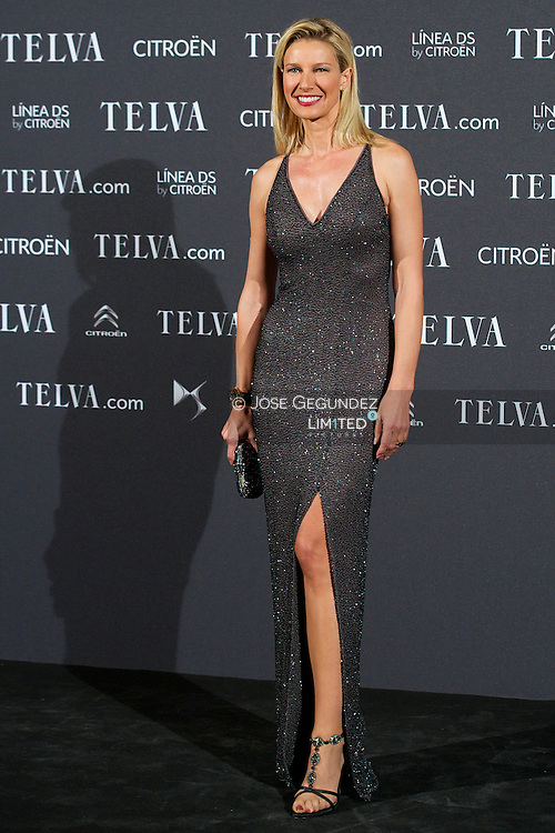 Anne Igartiburu attends Telva Awards 2012 at Hotel Palace on November 6, 2012 in Madrid, Spain
