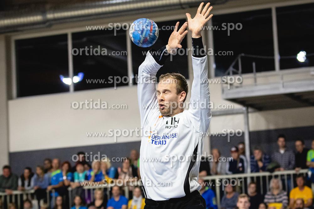 Bart Revensbergen of Nederlandduring friendly handball match between Slovenia and Nederland, on October 25, 2019 in Športna dvorana Hardek, Ormož, Slovenia. Photo by Blaž Weindorfer / Sportida