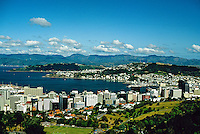 City overview, Wellington, New Zealand