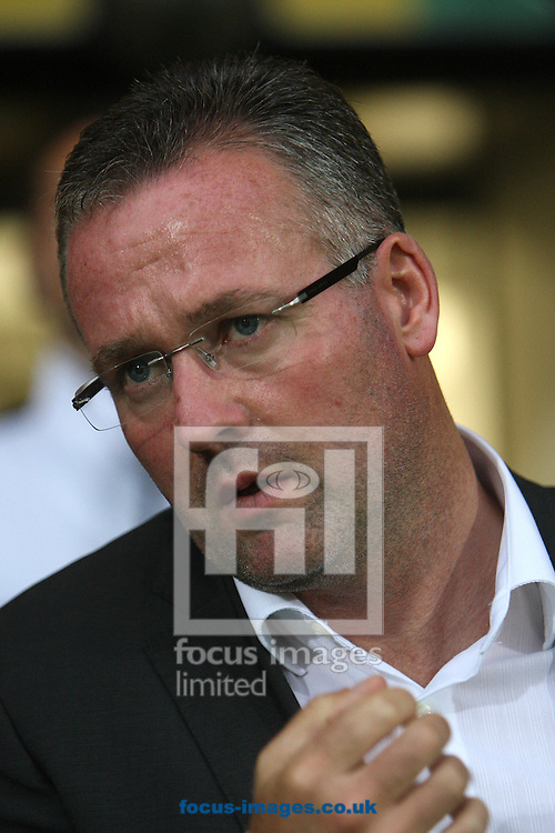 Norwich Manager Paul Lambert during a pre season friendly at Carrow Road stadium, Norwich...Picture by Paul Chesterton/Focus Images Ltd.  07904 640267.3/8/11
