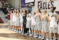 January 8, 2015: The Oklahoma Panhandle State University Aggies play against the Oklahoma Christian University Lady Eagles in the Eagles Nest on the campus of Oklahoma Christian University.